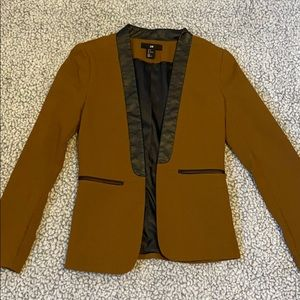 Camel brown blazer